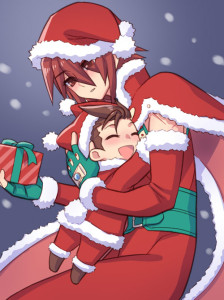Kratos und Lloyd - Christmas