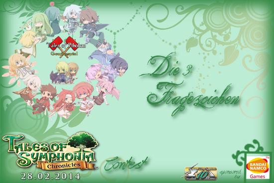 Tales of Symphonia - Chronicles Gewinnspielbanner