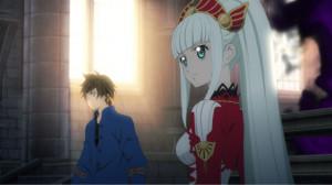 Zestiria - Animierte Zwischensequenz mit Lailah und Sorey