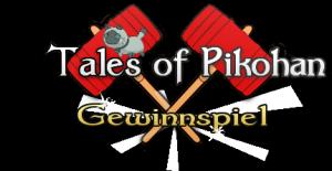 Tales of Pikohan Gewinnspiel Banner mit Rollo