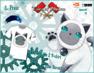 Tales of Xillia 2 Die Preise Platz 3