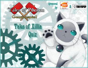 Tales of Xillia 2 Pikohan Gewinnspiel Banner Schriftzug