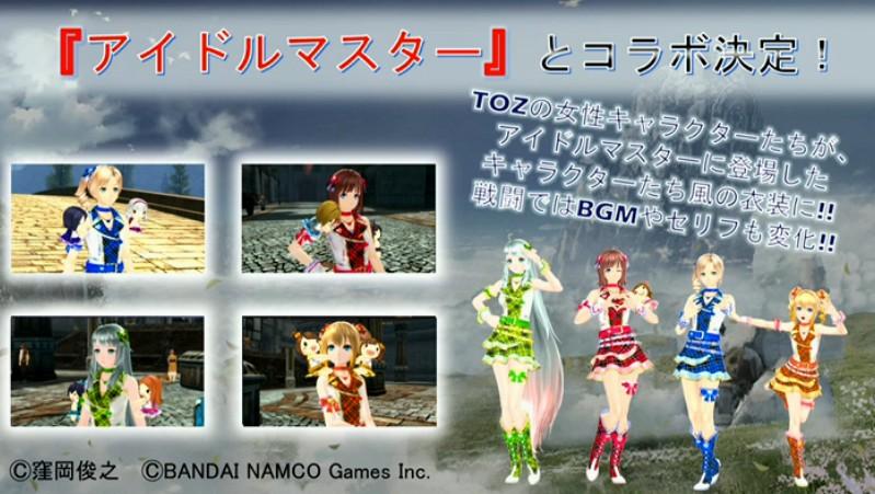 Tales of Zestiria - Idolmaster DLCs
