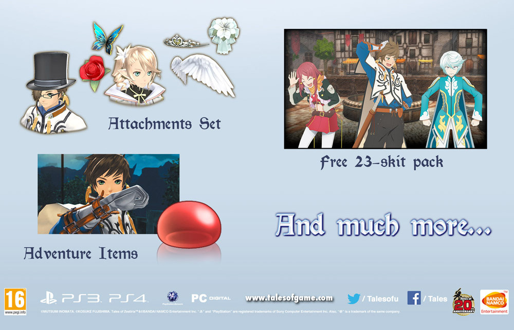 Tales of Zestiria DLC Costumes 3