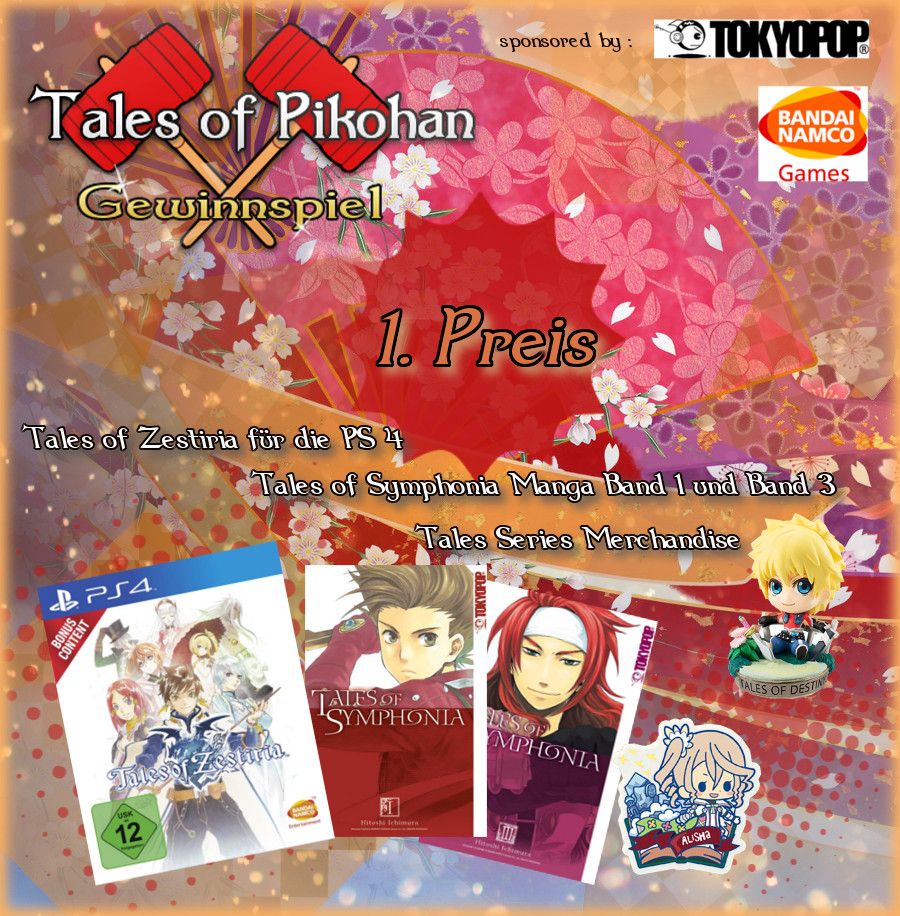 Tales of Pikohan Neujahrs Gewinnspiel 1. Platz