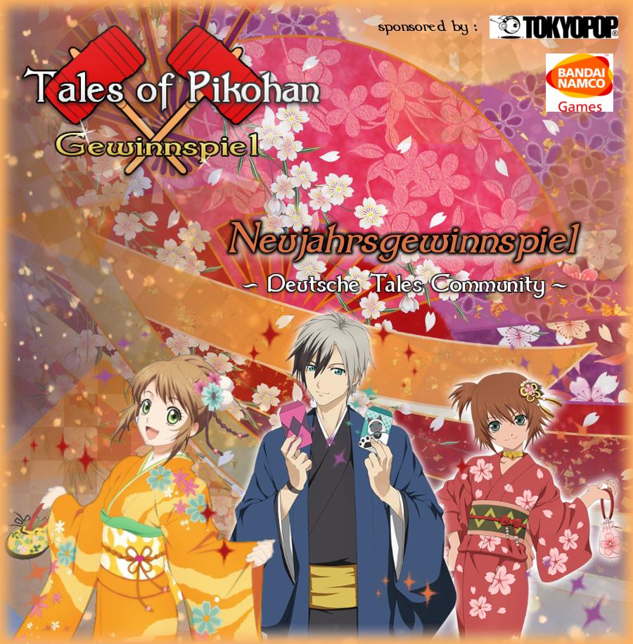 Tales of Pikohan Neujahrs Gewinnspiel Banner