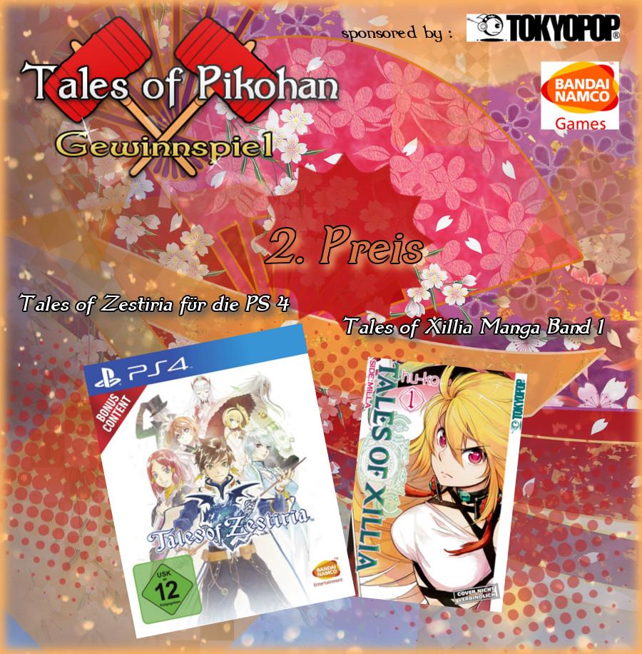 Tales of Pikohan Neujahrs Gewinnspiel Preis 2