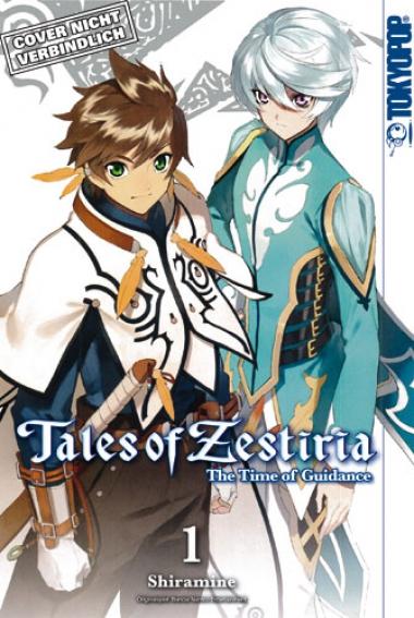 Zestiria Manga Cover