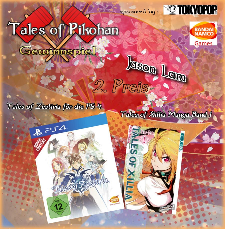 Tales of Pikohan Neujahrs Gewinnspiel Preise Preis 2 Jason Lam