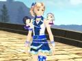 Alisha im Idolmaster Outfit