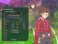 Tales of Symphonia - Chronicles Statusmenü